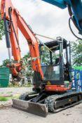 Kubota U27-4 2.8 tonne rubber tracked mini excavator Year: 2016 S/N: 58747 A739016 ** Subject to