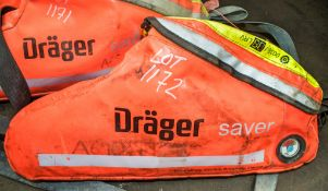Drager emergency escape breathing device A690179