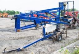 Nifty 90ME battery electric fast tow boom lift Year: 2008 S/N: 18826