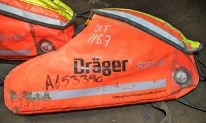 Drager emergency escape breathing device A653390