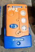 Crowcon gas detector c/w charging dock A702914 ** No lead **