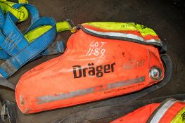 Drager emergency escape breathing device A623083