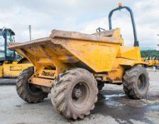 Thwaites 6 tonne straight skip dumper Year: 2005 S/N: A6968 Recorded Hours: 3505 1904