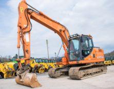 Doosan DX140LC 14 tonne steel tracked excavator Year: 2012 S/N: 50792 Recorded Hours: 89336 (Clock