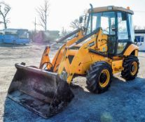 JCB 2CX Airmaster Year: 2008 S/N: 1339717 Recorded hours: Not displayed (Clock blank)