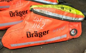 Drager emergency escape breathing device A708849