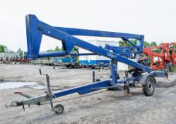 Nifty 120ME battery electric fast tow boom lift Year: 2003 S/N: 10947 ** No basket **