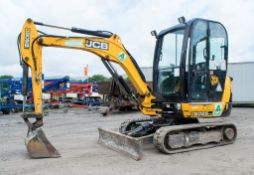 JCB 8026 2.6 tonne rubber tracked mini excavator  Year: 2013 S/N: 1779683 Recorded Hours: 1356