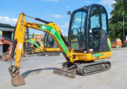 JCB 8016 CTS 1.5 tonne rubber tracked mini excavator Year: 2014 S/N: 20171671 Recorded Hours: 1191