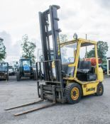 Lansing 7/2.5 2.5 tonne gas powered fork lift truck S/N: 36725 Recorded Hours: 219