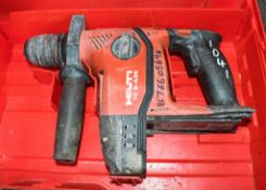 Hilti TE6-A36 36v cordless SDS rotary hammer drill c/w carry case BETE60569H ** No charger or
