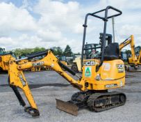JCB 8008 CTS 0.8 tonne rubber tracked micro excavator Year:2014 S/N: 2410657 Recorded Hours: 886