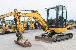 JCB 8025 CTS 2.5 tonne rubber tracked mini excavator Year: 2013 S/N: 2226144 Recorded Hours: 2961