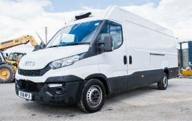 Iveco Daily 35 S17 XLWB refrigerated panel van Registration Number: RX16 MPU Date of Registration: