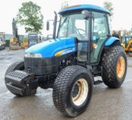New Holland TD5050 4 wheel drive tractor  Year: WX09FSY Rec Hours: 1539 c/w V5C registration