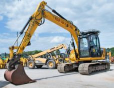 JCB JS 130 LC 13 tonne steel tracked excavator Year: 2013 S/N: 1786698 Recorded hours: 4,428 Bucket,