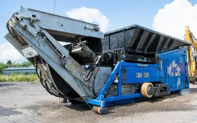 Forus 250 SE diesel twin shaft waste pre shredder Year: 2017 S/N: 638 Recorded Hours: 1019 (