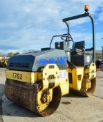 Bomag BW120 AD-3 double drum ride on roller Year: 2004 S/N: 519815 Recorded Hours: Not displayed (