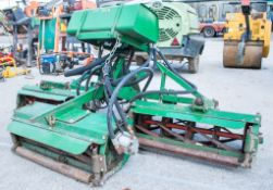 3 gang PTO driven tractor mountable mower
