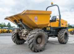 Terex TA6s 6 tonne swivel skip dumper Year: 2015 S/N: EF3PR6842 Recorded Hours: 314