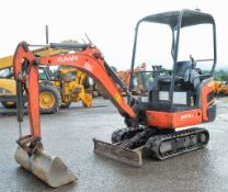 Kubota KX015-4 1.5 tonne rubber tracked mini excavator Year: 2011 S/N: 55643 Recorded Hours: 2433