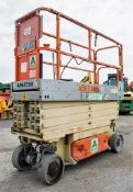 JLG 2630 26 ft battery electric scissor lift access platform Year: 2011 S/N: 1940 A565398 **