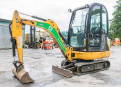 JCB 8016 CTS 1.5 tonne rubber tracked mini excavator Year: 2013 S/N: 2071490 Recorded Hours: Not
