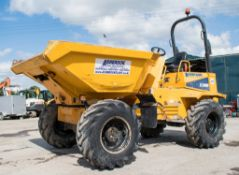 Thwaites 6 tonne swivel skip dumper Year: 2013 S/N: C5599 Recorded Hours: 1645 D40