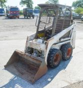 Bobcat 443 skidsteer loader S/N: 502914128 Recorded Hours: 2068 WC10