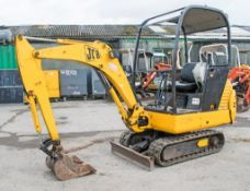 JCB 8015 1.5 tonne rubber tracked mini excavator Year: 2004 S/N: 1021045 Recorded Hours: 561 blade &