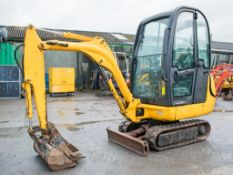 JCB 8014 1.5 tonne rubber tracked excavator Year: 2007 S/N: 1283459 Recorded Hours: 1769 blade & 3