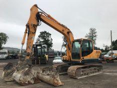 2016 Hyundai R140 LC -9A 14 tonne steel tracked excavator