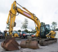 JCB JS220 LC 22 tonne steel tracked excavator Year: 2008 S/N: 81611097 Recorded hours: 7160 Complete