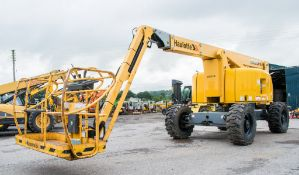 HAULOTTE HA20PX diesel driven articulated boom lift access platform Year: 2012 S/N: AD400588