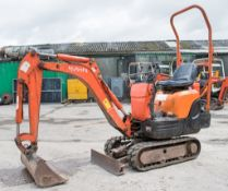 Kubota KX008 0.8 tonne rubber tracked excavator Year: 2004 S/N: 12388 Recorded Hours: 4151 blade,