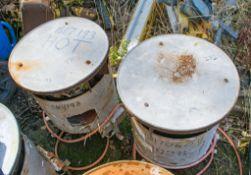 2- Gas fired bin heaters