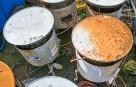 2 - Gas fired bin heaters