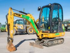 JCB 8016 CTS 1.5 tonne rubber tracked mini excavator Year: 2013 S/N: 2071381 Recorded Hours: 1654