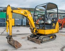 JCB 8015 1.5 tonne rubber tracked mini excavator Year: 2004 S/N: 1020825 Recorded Hours: 3032