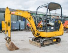 JCB 8015 1.5 tonne rubber tracked mini excavator Year: 2004 S/N: 1020938 Recorded Hours: 3541