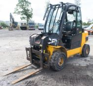 JCB TLT 35D 4wd Teletruck fork lift truck Year: 2014 S/N: 2252900 Recorded hours: 2857