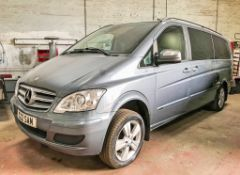 Mercedes Benz Viano 2.2 CDi Ambiente LWB 7 seat luxury people carrier Registration Number: S22 SAM