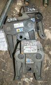 3 - pipe press jaws