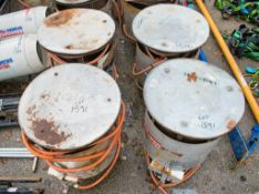 4 - gas fired bin heaters