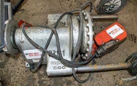 RIDGID 300 110 volt pipe threading machine Complete with foot pedal