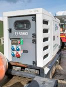 SDMO R33 33 kva diesel driven generator Year: 2012 S/N: 312007927 Recorded Hours: 27,411 A583127