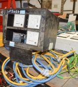HAVERHILL 110/240 volt load bank tester/distribution box *damaged*