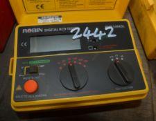 ROBIN digital RCD tester