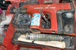 Hilti DX450 nail gun for spares c/w carry case
