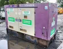 Denyo DCA-70 50 kva diesel driven generator Year: 2011 S/N: 3849695 Recorded Hours: 13,816 A566509